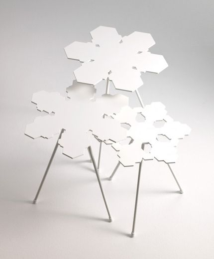 'Snowflakes' tables by Claesson Koivisto Rune for Offecct
