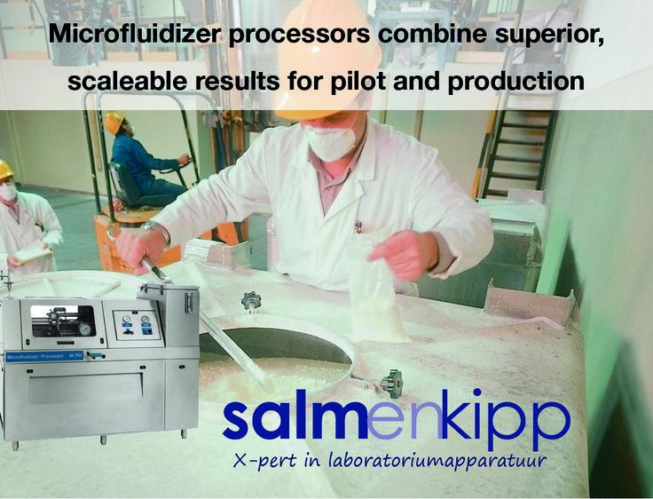 De M700 serie biedt een constant niveau voor commerciële pilot en productie applicaties, voor o.a. farmaceutische en biotechnologische producten (die UCIP en SIP eisen), coatings, inkten, pigmenten, sealants etc. Deze units zijn leverbaar in 11.3kW, 18.7kW en 37.5kW uitvoeringen. De 37.5kW uitvoering is tevens leverbaar in een CP (constant pressure) versie. De M700 serie is geïntegreerd in een RVS behuizing.