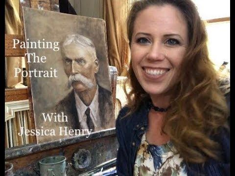 Painting the Portrait with Jessica Henry - YouTube