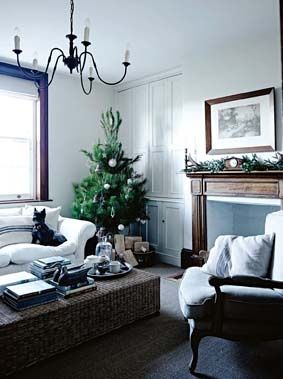 One of our Christmas Trees in Country Style Magazine Christmas Edition 2014 at the home of Amanda Skipper.