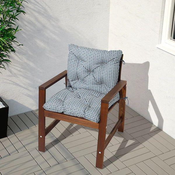 YTTERÖN Sitz /Rückenpolster/außen   blau   IKEA ...