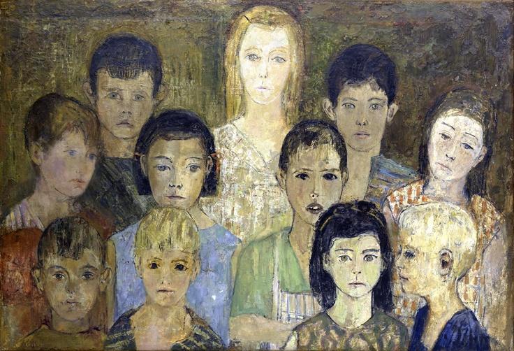CARMEN LAFFÓN (Sevilla, España, 1934), pintora y escultora figurativa. Premio Nacional de Artes Plásticas y académica de la Real Academia de Bellas Artes de San Fernando.