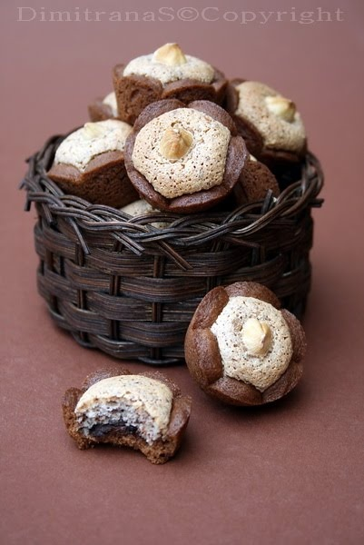 Easy and delicious!!! Cocoa Baskets Cookies - Bulgarian Recipe. Use Google Translate to read recipe in English