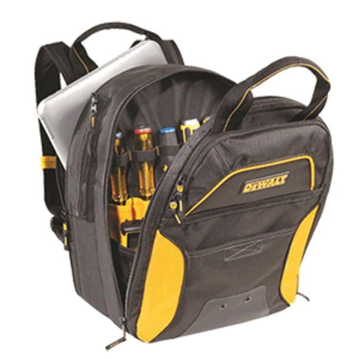 CLC DGC533 DEWALT® 33 Pocket USB Charging Tool Backpack - No LED Light