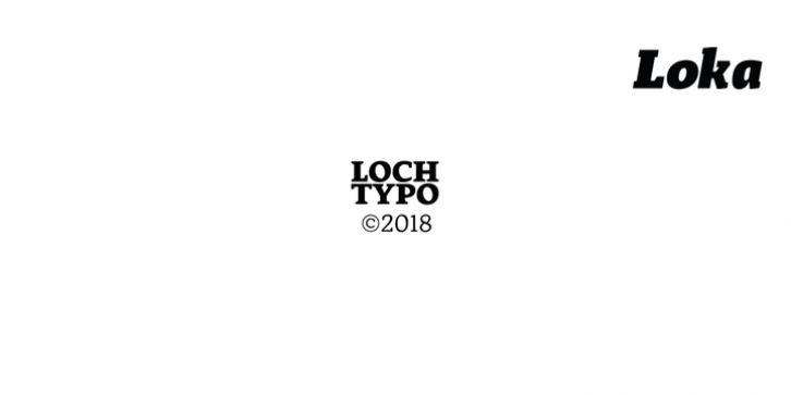 Loka Font Download Font Fonts Typography Typeface Webdesign In 2020 Download Fonts Fonts Typeface