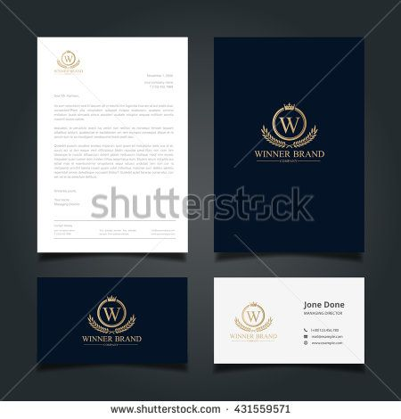 Luxury Logo And Corporate Identity Template Stock Photos, Images, & Pictures | Shutterstock