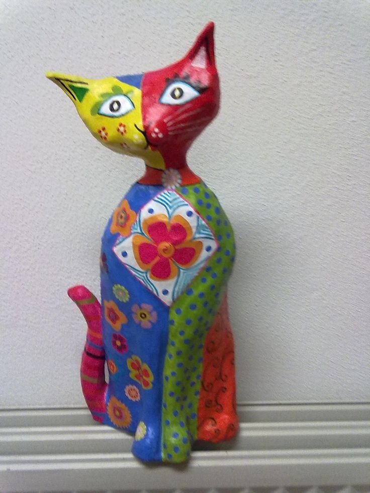 Best images about paper mache cat on pinterest cats