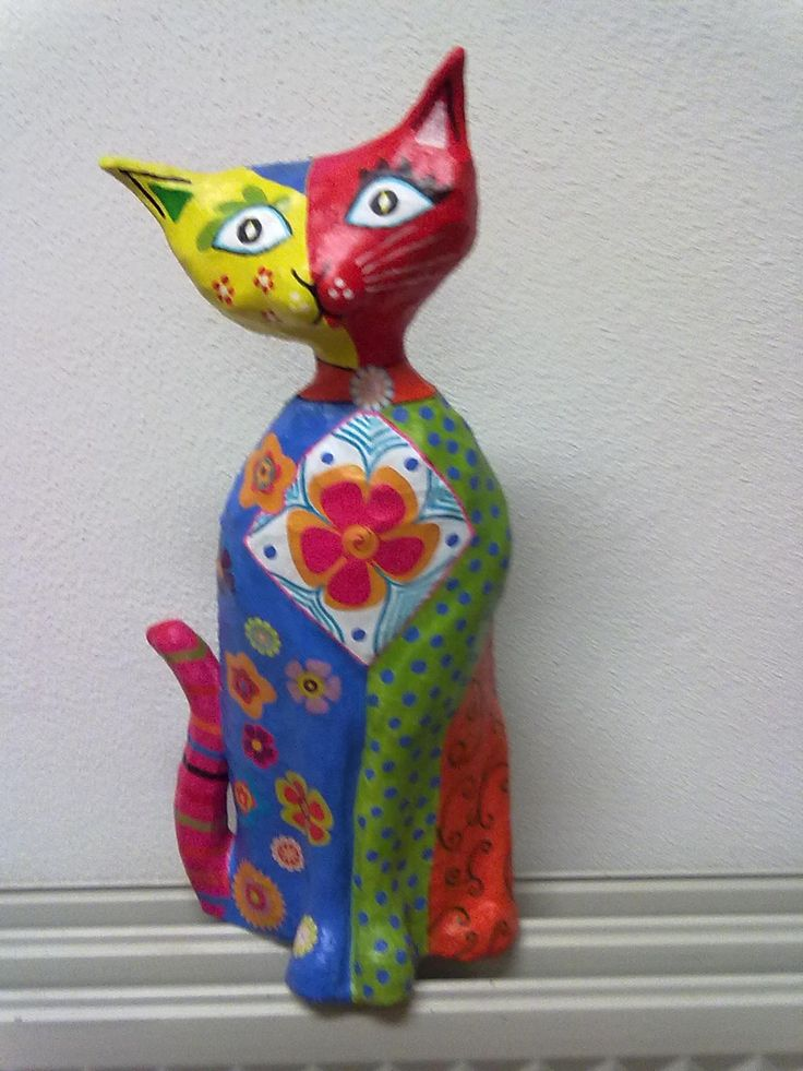 2486 best images about paper mache cat on pinterest cats. Black Bedroom Furniture Sets. Home Design Ideas