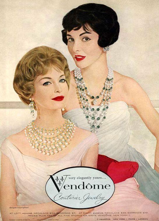 Vendome Couturier Jewelry 1958