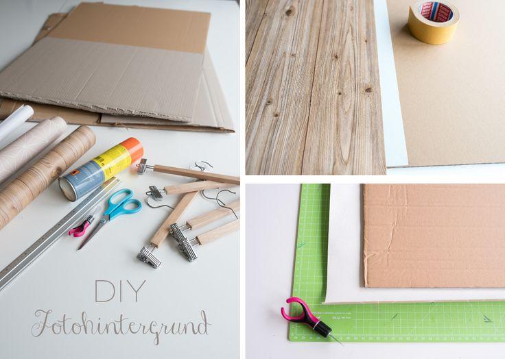 Blogger Organisation mit dem DIY Fotohintergrund aus Pappe zum Wechseln als Hintergrund für Fotos auf dem Blog