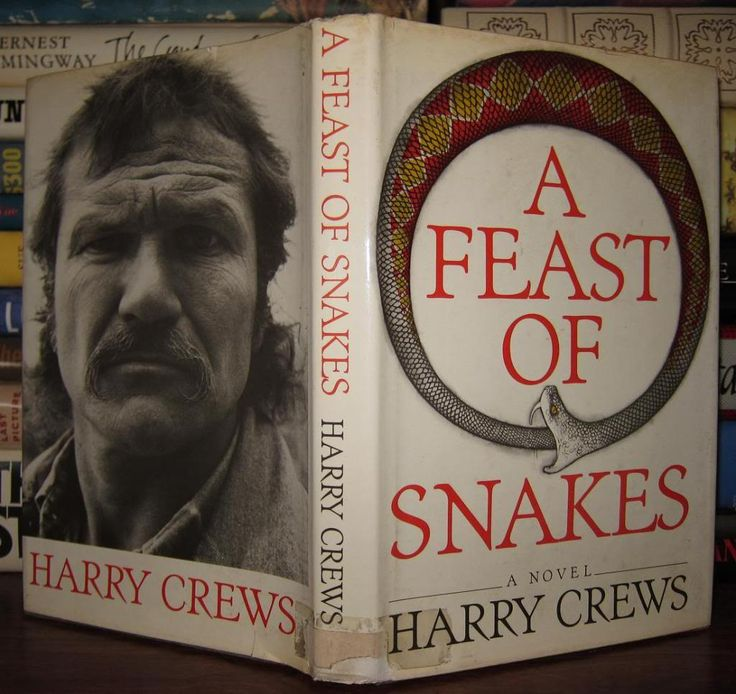 """""""How do you like your blue-eyed boy, Mr Death?"""" Harry Crews, 1935-2012  http://www.guardian.co.uk/books/2012/apr/10/harry-crews: Worth Reading, Snakes Hung, Book Worth, Harry Crew, Briefest Instant, Boiled Snakes, Swimmers Breaking, Blue Ey Boys, Breaking Water"""