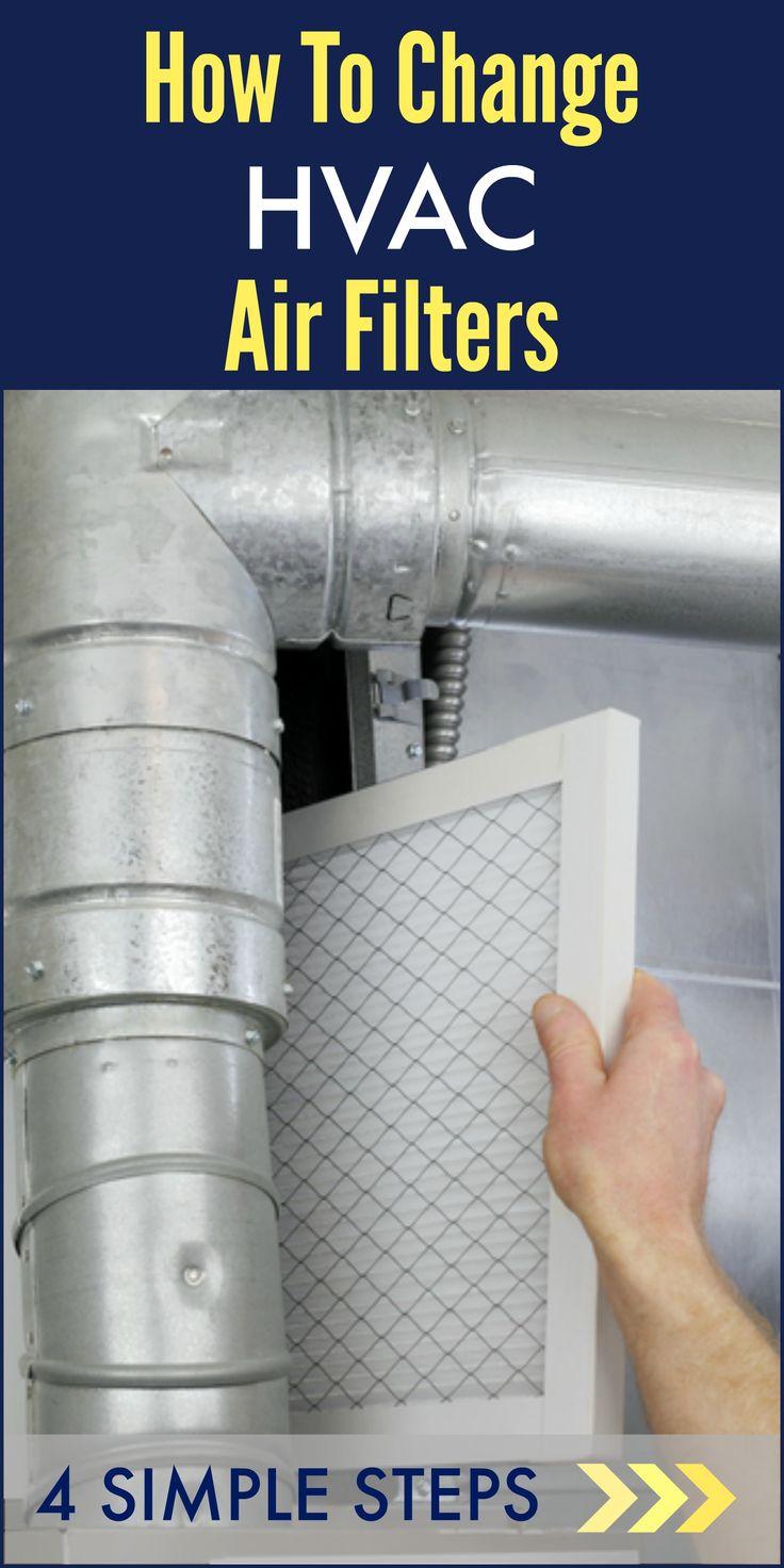 How to change HVAC filters http://www.woodard247.com/2014/04/how-to-change-hvac-air-filters-4-simple-steps/