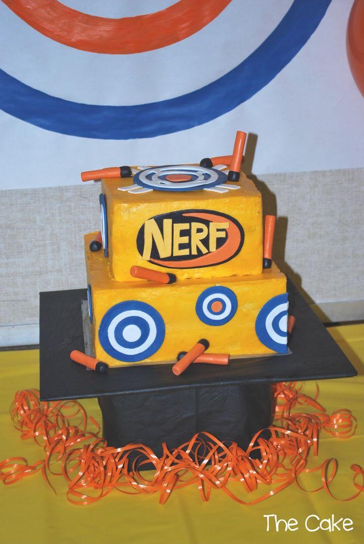 Nerf Gun Cakes Cake