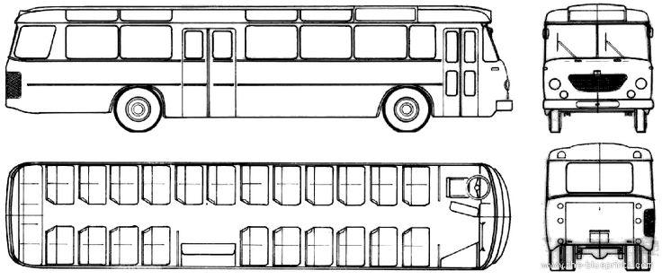 Bussing Uberland-Linienbus Senator 13R (1961)