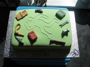 1000 Images About Murder Mystery Cakes And Parties On