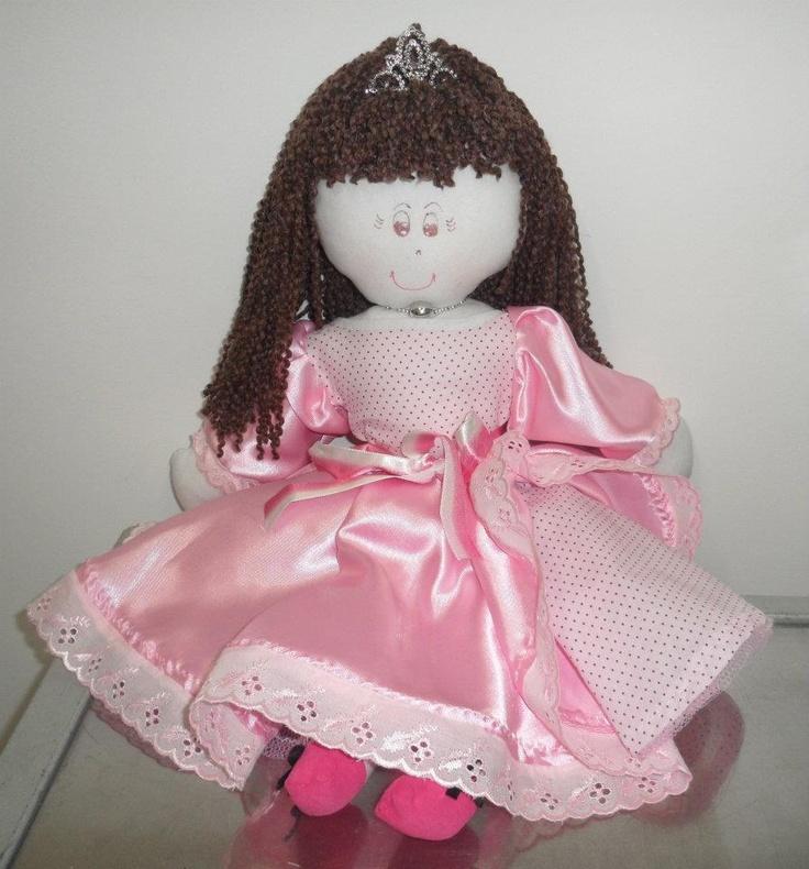 Bonecas de Pano: Princesa - r$ 65,00