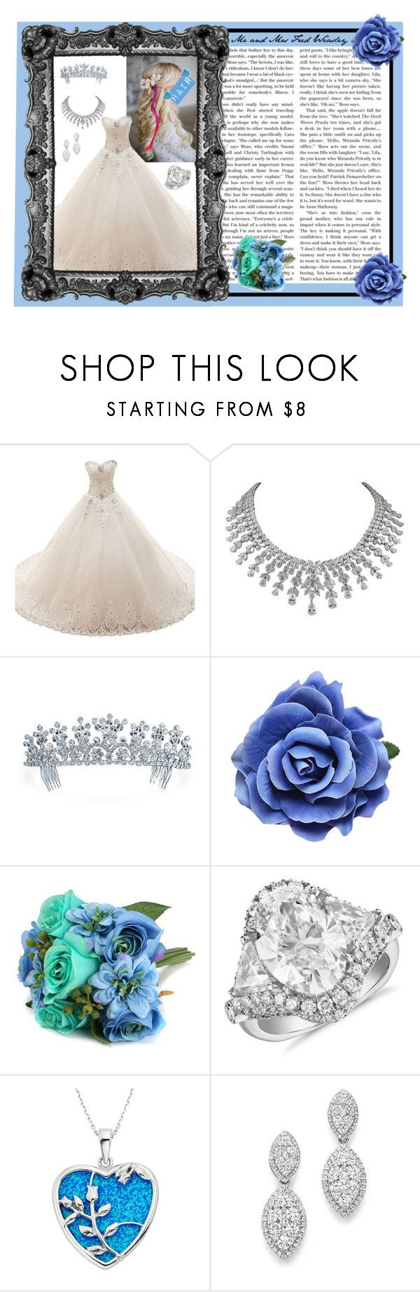 """Daphne Nightshade - Wedding - (HP Fanfic)"" by gryffindormermaid ❤ liked on Polyvore featuring Bling Jewelry, Blue Nile, Bloomingdale's and daphnenightshade"