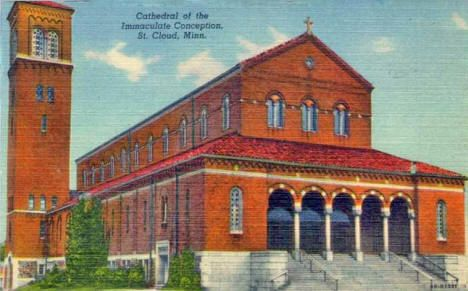 Cathedral of the Immaculate Conception, St. Cloud Minnesota, 1946
