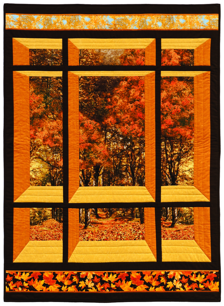 77 Best Images About Panel Quilts On Pinterest
