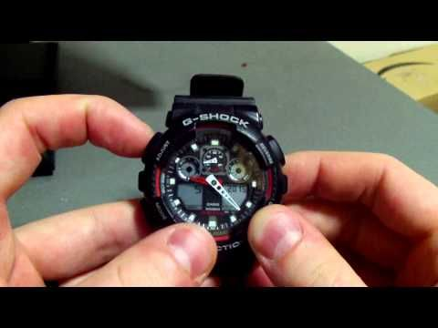 g shock watch how to change the time