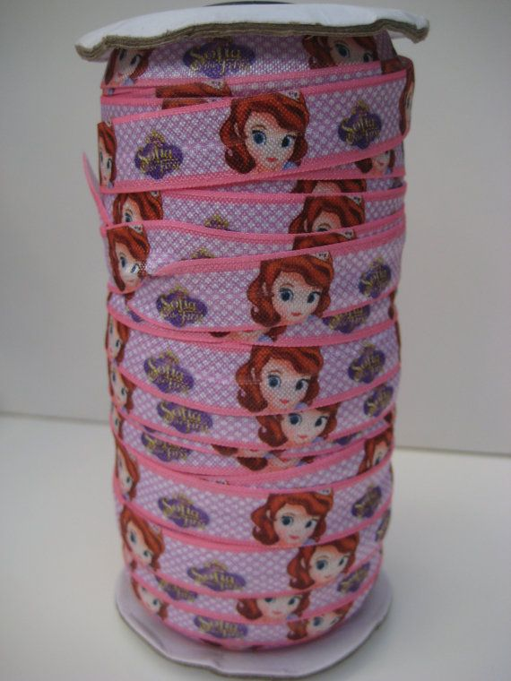 Disney Princess Sofia the First 5/8 inch 16mm FOE by OliverandMay, $2.50