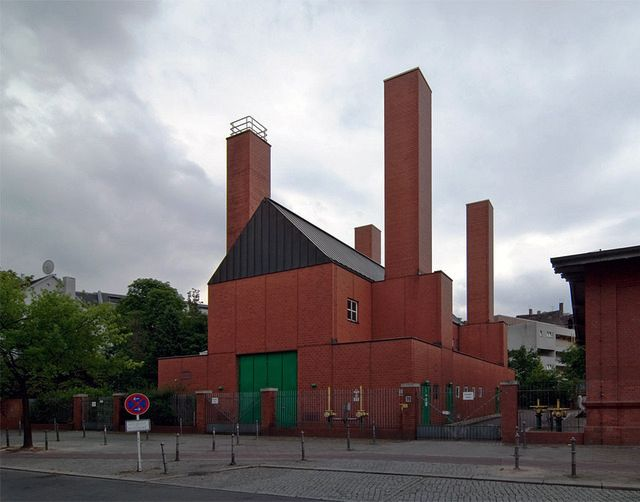O.M. Ungers - Pumping station, Berlin 1978. Via.