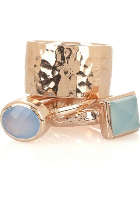 Monica Vinader Set of 3 stacking ring
