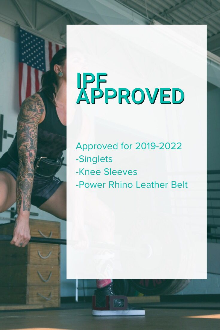 f3b40d95e4 Approved for 2019-2022 IPF sanctioned meets | Products you tagged ...