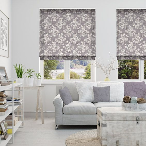 Josephine Grape Roman Blind from Blinds 2go