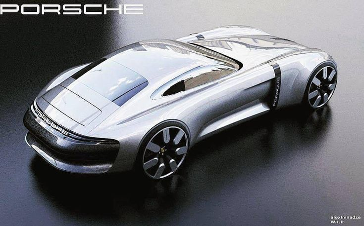 Porsche GTO concept work-in-progress by Alex Baldini