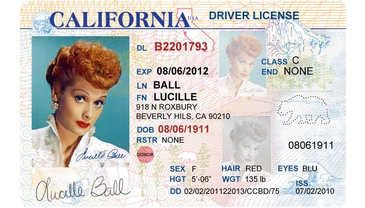 California Driver's License Editable PSD Template Download - $5.00 ...