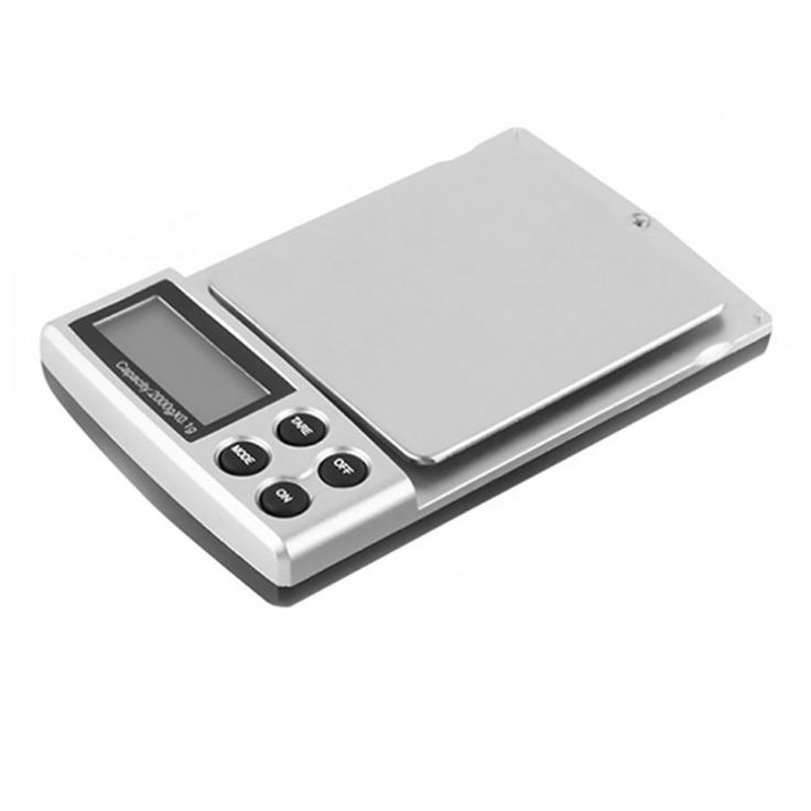 Digital Scale Gold Silver Coin Grain Gram Pocket Size LCD Display Clear Cover #Unbranded