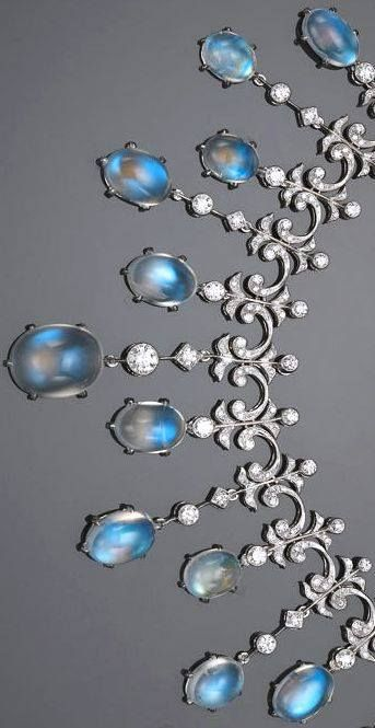 Fabulous moonstones and diamonds