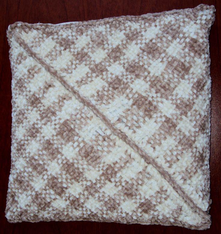 $40.000 COP Cojin en lana tejido en telar triangular