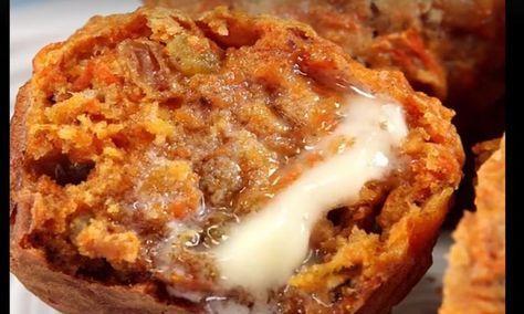 Ma recette secrète de muffin aux carottes et ananas! Peu de gens la connaissent, elle est IMBATTABLE!