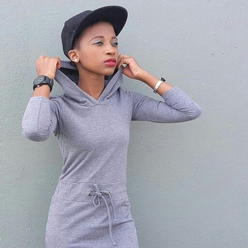 sporty chic -the hooded dress pair up