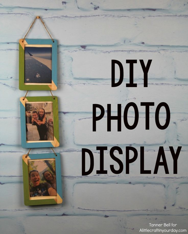 Diy photo display display craft and ac moore for Ac moore and crafts