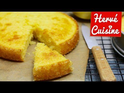 Gâteau moelleux au citron: recette facile - HerveCuisine.com