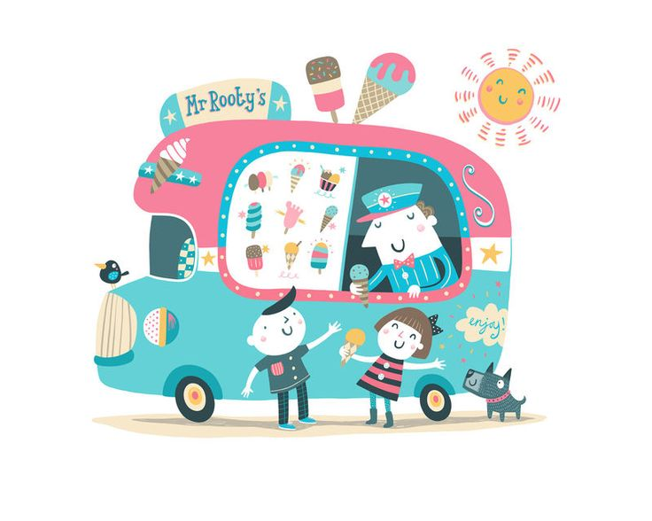 Mr Rooty's Ice-cream Van - product image