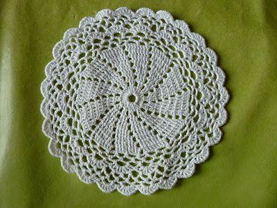 Longchamp Bricole: Napperon crochet facile