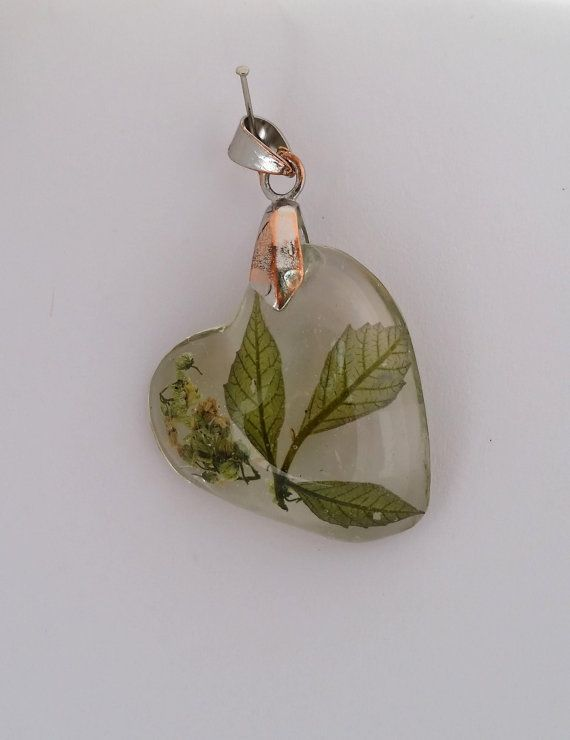 Real poison ivy preserved in resin. This herbarium by EcoBibelot