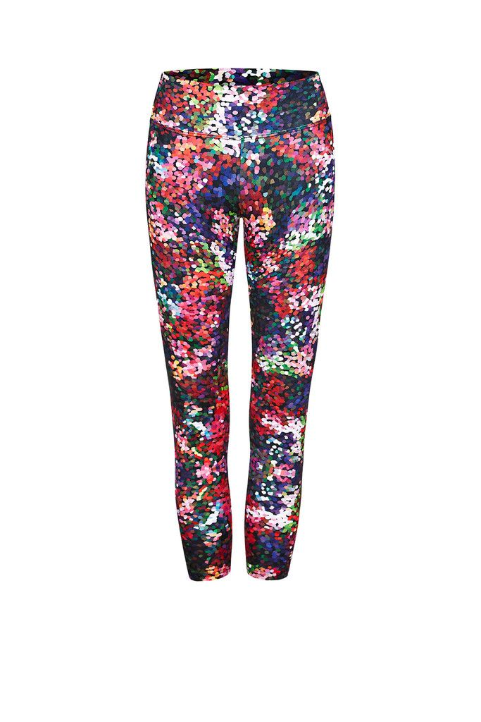 Berry Fizz Printed Yoga Legging - 3/4 – Dharma Bums Yoga and Activewear