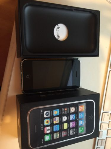 Apple iPhone 3GS 16GB - Black (AT&T) Smartphone (MC135LL/A) CELL PHONE In Box | eBay