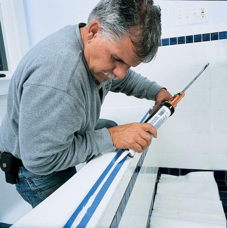 How To Clean Caulk In Bathroom: Best 25+ Caulking Tub Ideas On Pinterest