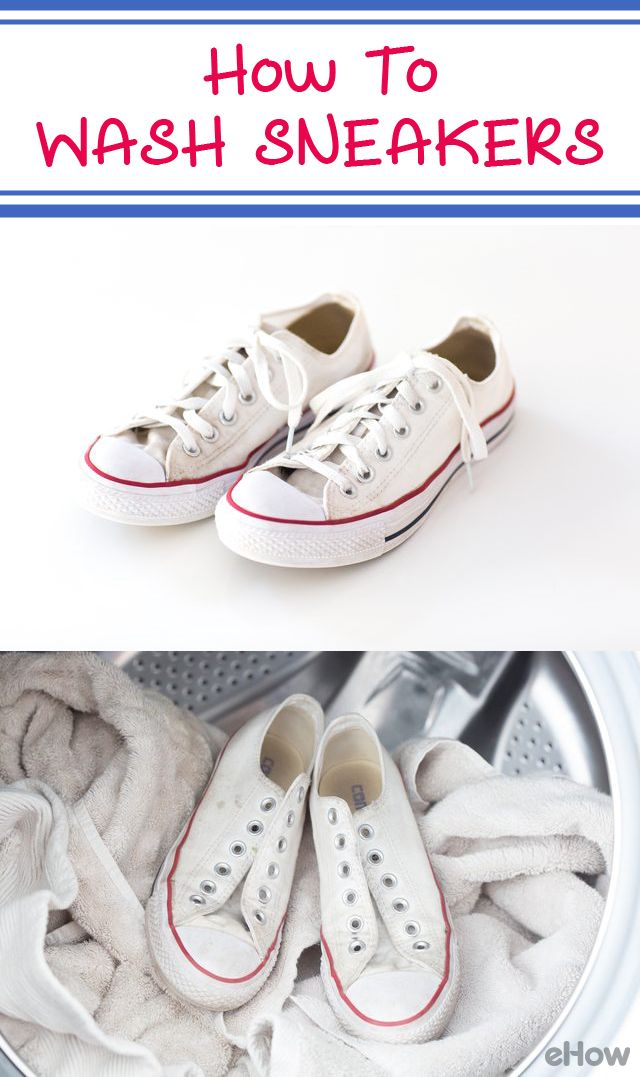 You can put your white sneakers in the washing machine! It's one of the most effective ways to remove stains and doesn't require much effort. Keep in mind, though, that this method should be performed only on cotton canvas or nylon kicks. Leather or suede styles can be damaged in the washer. Details here: http://www.ehow.com/how_2292648_wash-sneakers-washing-machine.html?utm_source=pinterest.com&utm_medium=referral&utm_content=freestyle&utm_campaign=fanpage