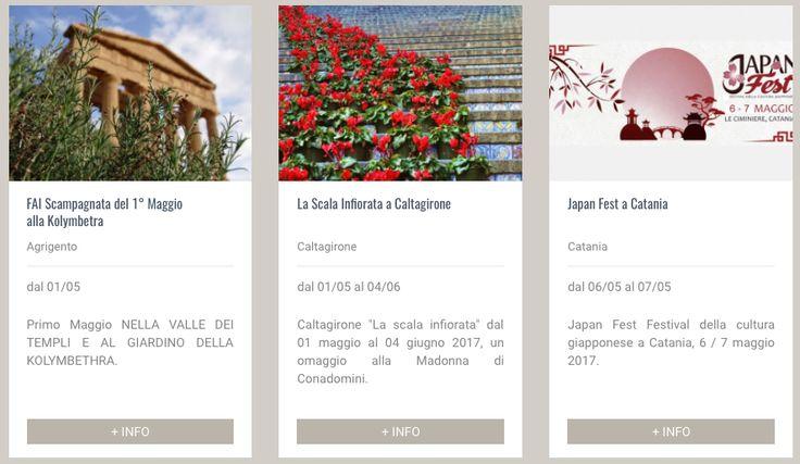 Scopri gli eventi di Maggio in Sicilia! #prenotareinsicilia