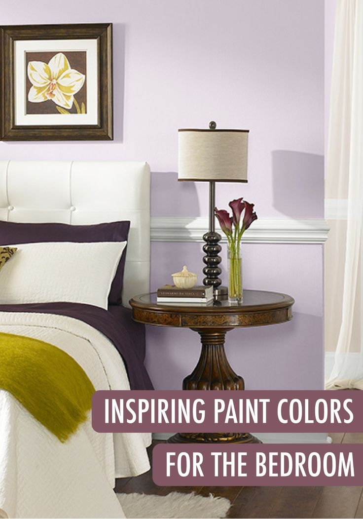 Create A Calming Oasis In Your Bedroom With A Serene Light Purple Color Find The