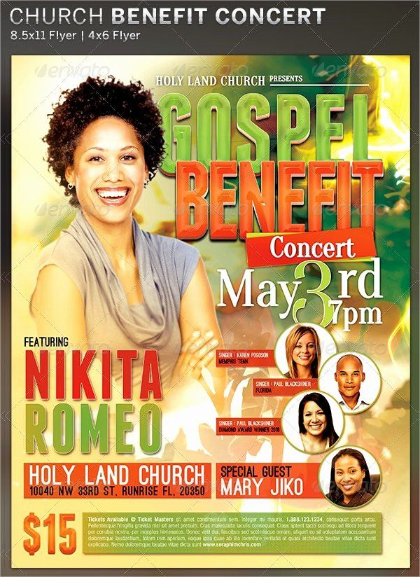 Benefit Flyer Examples New 15 Non Profit Flyer Designs Examples