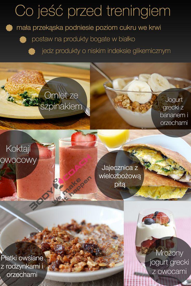 Przygotuj swój organizm do wysiłku fizycznego. Zobacz co warto zjeść przed treningiem.