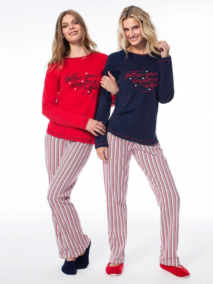 US Polo 15549 Bayan Pijama Takım | Mark-ha.com #markhacom #pijama #fashion #newseason #moda #trend #yenisezon #uspolo